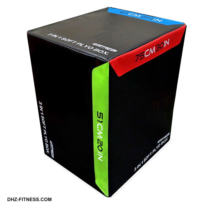 SOFT PLYO BOX Универсальный плиометрический бокс 3 в 1, 51/61/75 см