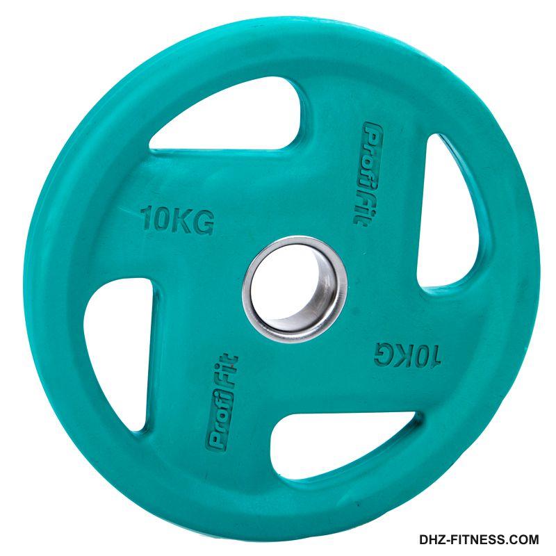 FASSION Диск D50 обрезиненный цветной 10 кг