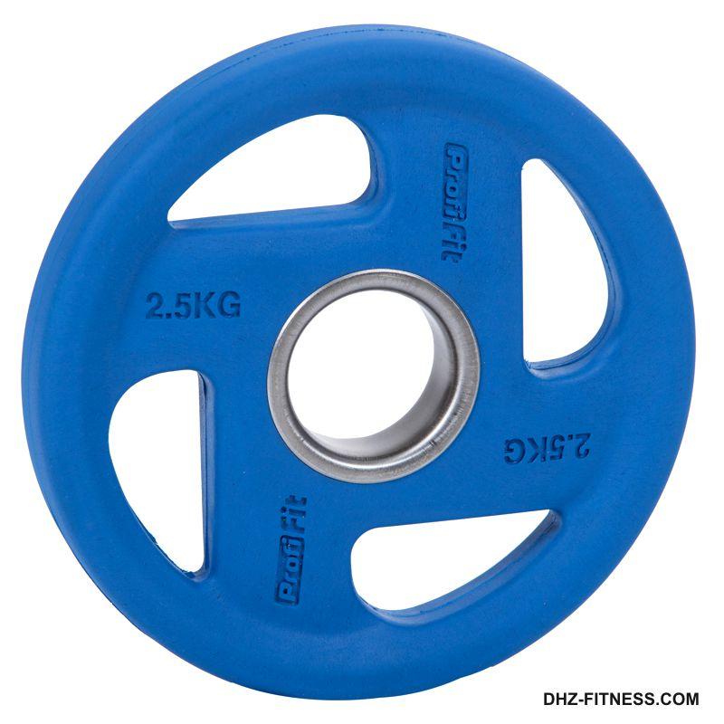 FASSION Диск D50 обрезиненный цветной 2,5 кг