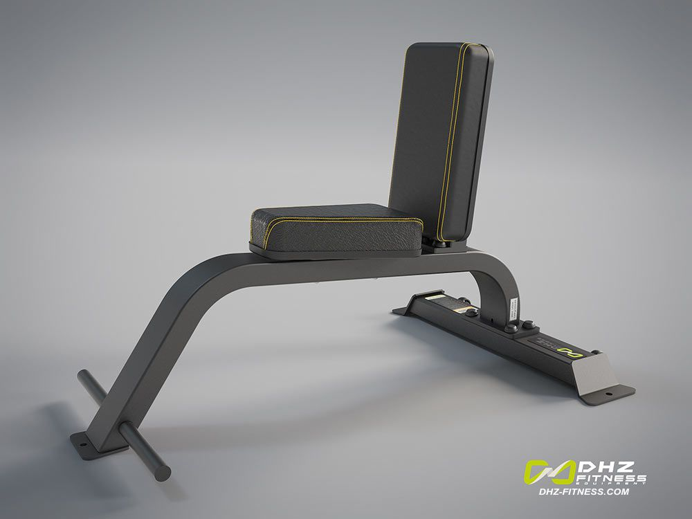 DHZ Fitness Evost Light E3000 E3038 Скамья под углом 90° (скамья-стул)