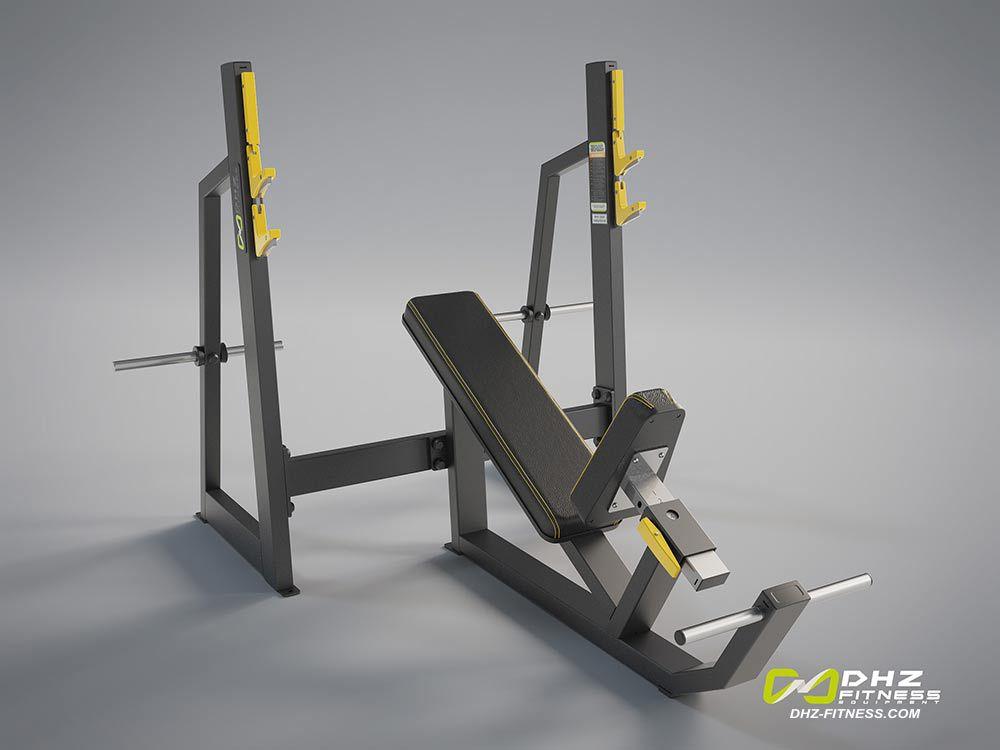 DHZ Fitness Evost Light E3000 E3042 Скамья жим от груди положительный угол
