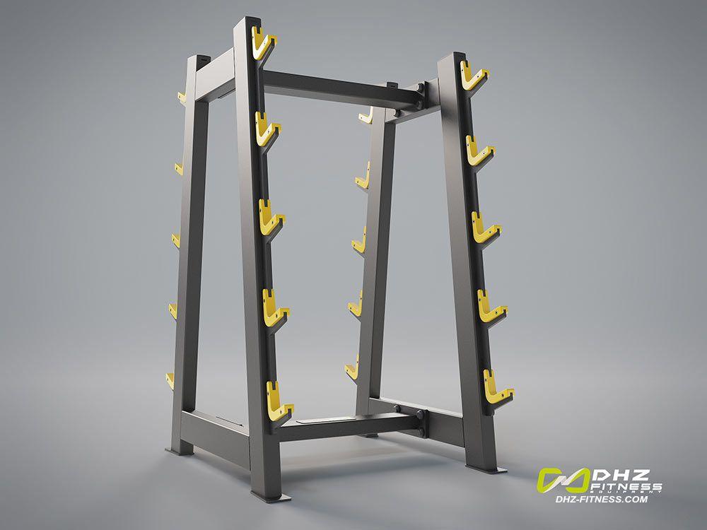 DHZ Fitness Evost Light E3000 E3055 Стойка для грифов и фиксированных штанг 10 шт
