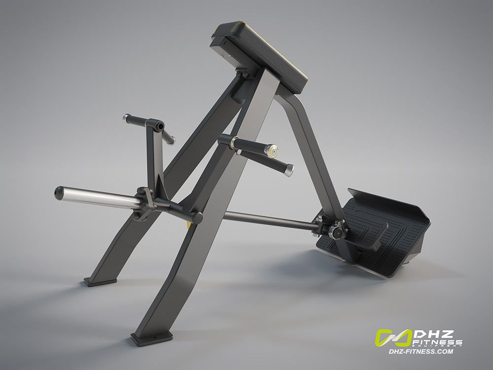DHZ A-3061 Т-образная тяга с упором в наклоне (Incline Level Row)