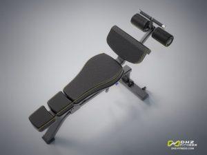DHZ Style I Pro E1037 Скамья для пресса, регулируемая фото