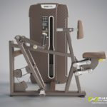 DHZ Style I Pro E4034 Гребная тяга с упором на грудь