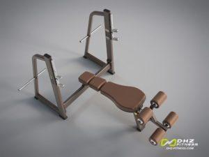 DHZ Style I Pro E1041 Скамья-стойка для жима под углом вниз фото