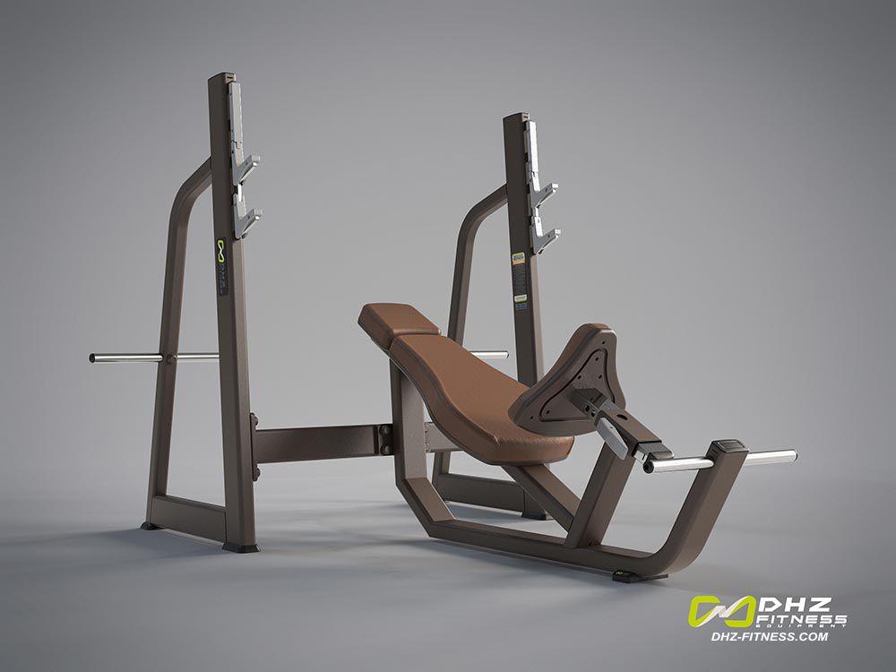 DHZ Style I Pro E1042 Скамья – стойка для жима под углом вверх