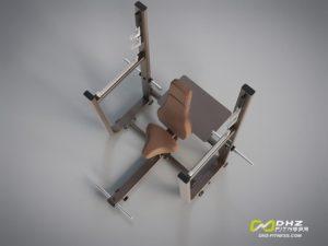 DHZ Style I Pro E1051 Скамья для вертикального жима штанги фото
