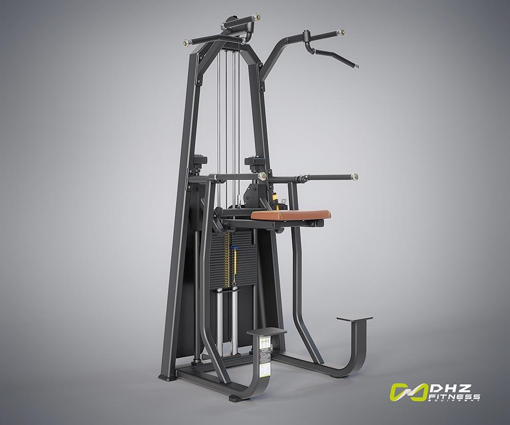 DHZ Fitness Evost E1000 E1009 Турник / брусья с противовесом
