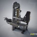 DHZ Fitness Evost E1000 E1023 Сгибание ног сидя