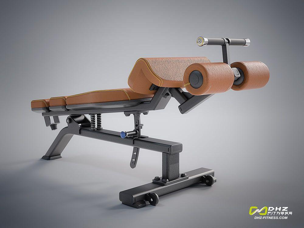 DHZ Fitness Evost E1000 E1037 Скамья для пресса регулируемая
