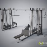 DHZ Fitness Evost E1000 E1064 Мультистанция 8-позиционная