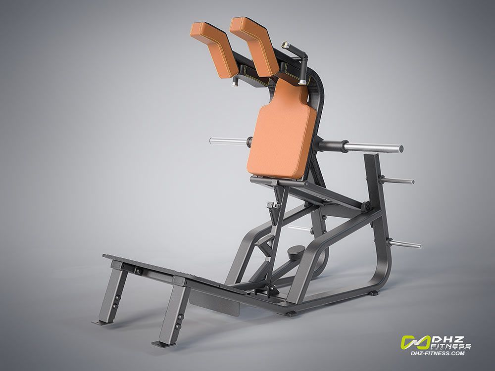 DHZ Fitness Evost E1000 E1065 Приседания Squat