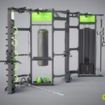 DHZ E-360 E360-D Станция для функционального тренинга