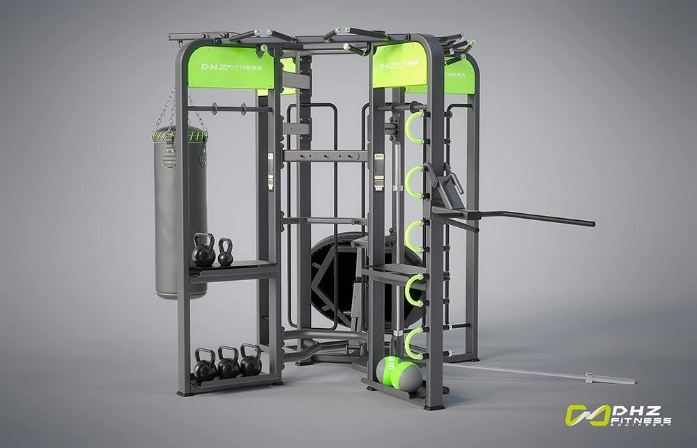 360E Рама DHZ для функциональных тренировок. Габарит 3310х2530х2360