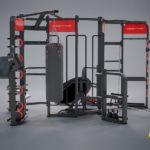 DHZ E-360 E360-A Станция для функционального тренингаE360-F Станция для функционального тренинга