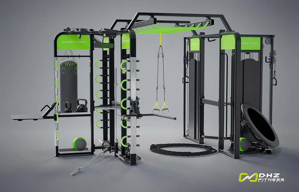 DHZ E360-XM Станция для функционального тренинга