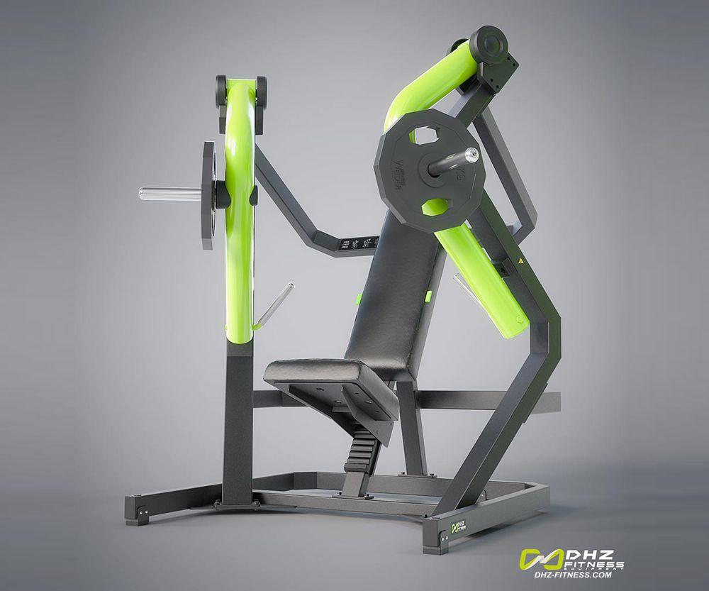 DHZ Fitness Plate Load Y900Z Y910Z Жим от груди наклонный вниз