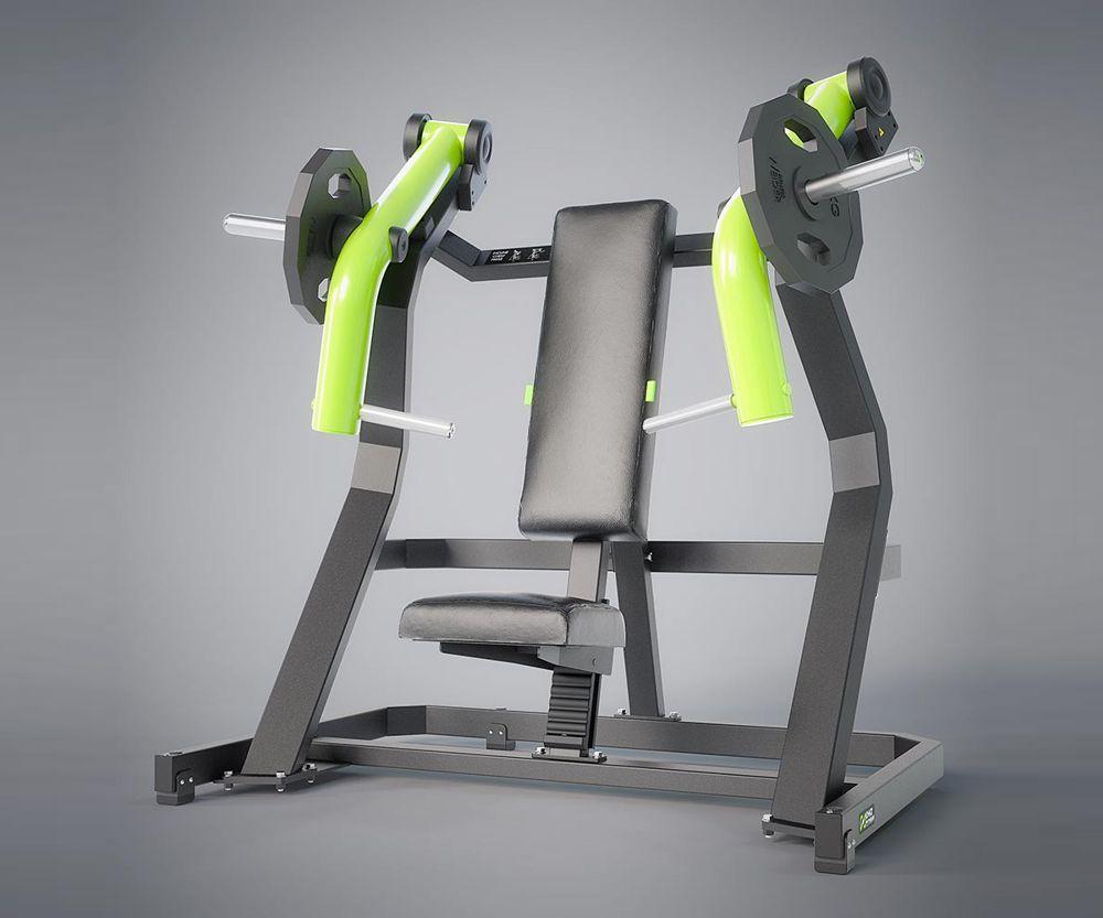 DHZ Fitness Plate Load Y900Z Y915Z Жим от груди наклонный вверх