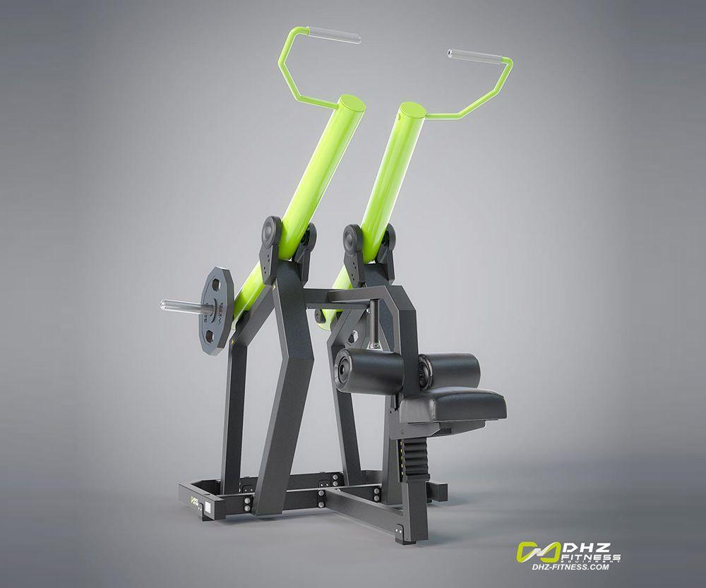 DHZ Fitness PlateLoad Y900Z Y920Z Тяга сверху