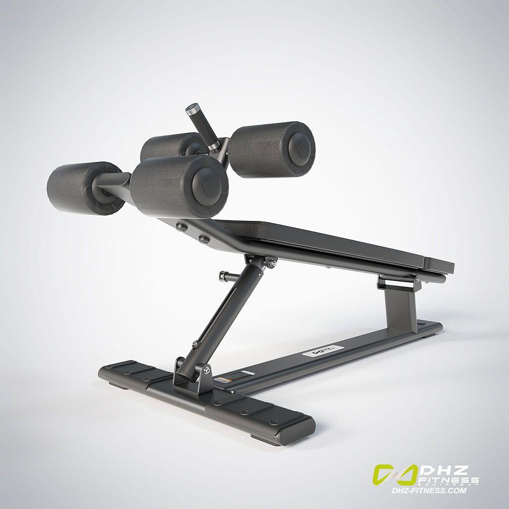 DHZ Fitness Fusion Pro E7037 Скамья для пресса регулируемая