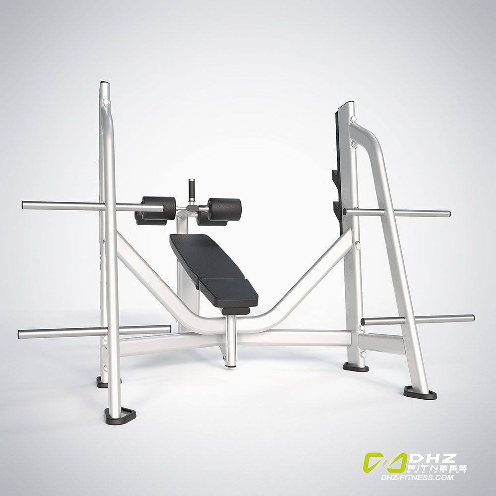 DHZ Fitness Fusion Pro E7041 Скамья жим от груди отрицательный угол