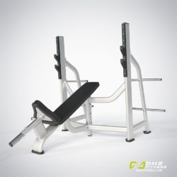 DHZ E-7042 Скамья-стойка для жима под углом вверх (Olympic Bench Incline)