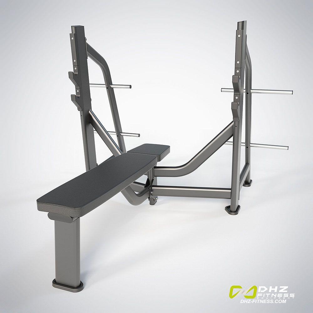 DHZ Fitness Fusion Pro E7043 Скамья жим от груди горизонтальный
