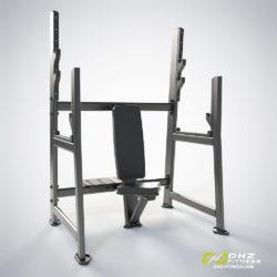DHZ E-7051 Скамья для вертикального жима штанги (Olympic Seated Bench)