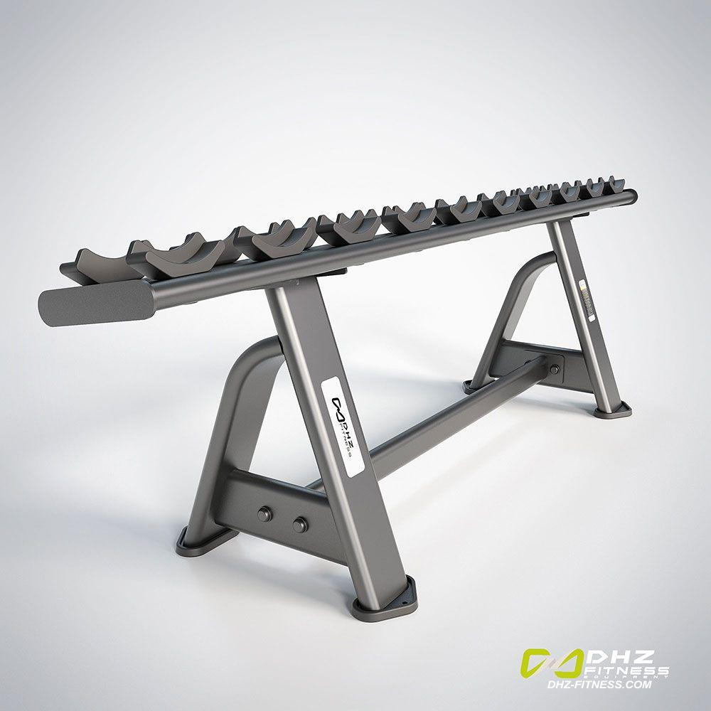 DHZ Fitness Fusion Pro E7067 Стойка для гантелей на 10 пар