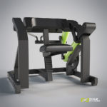 DHZ Fitness Plate Load Y900Z Y970Z Бицепс-машина