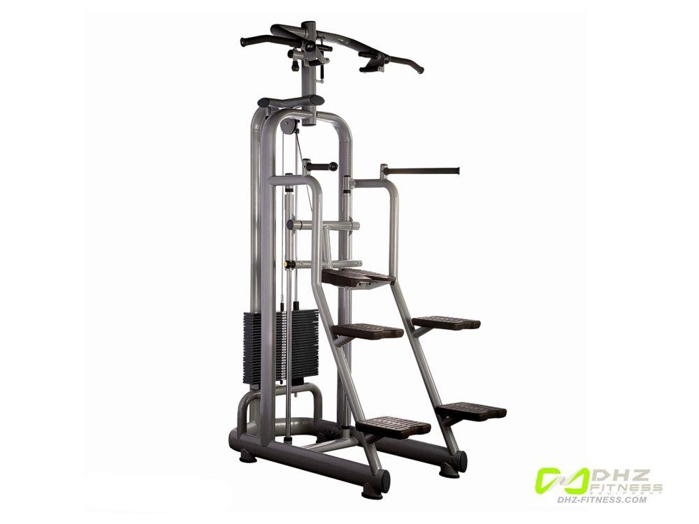 DHZ Fitness Allant A800 A887 Турник / брусья с противовесом