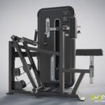 DHZ Fitness Mini Apple A3000 A3034 Тяга с упором в грудь