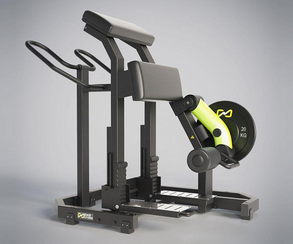 DHZ Fitness Plate Load Y900Z Y955Z Сгибание ног стоя