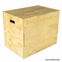 PLYO BOX Универсальный плиометрический бокс 3 в 1, 50/60/70 см, фанера