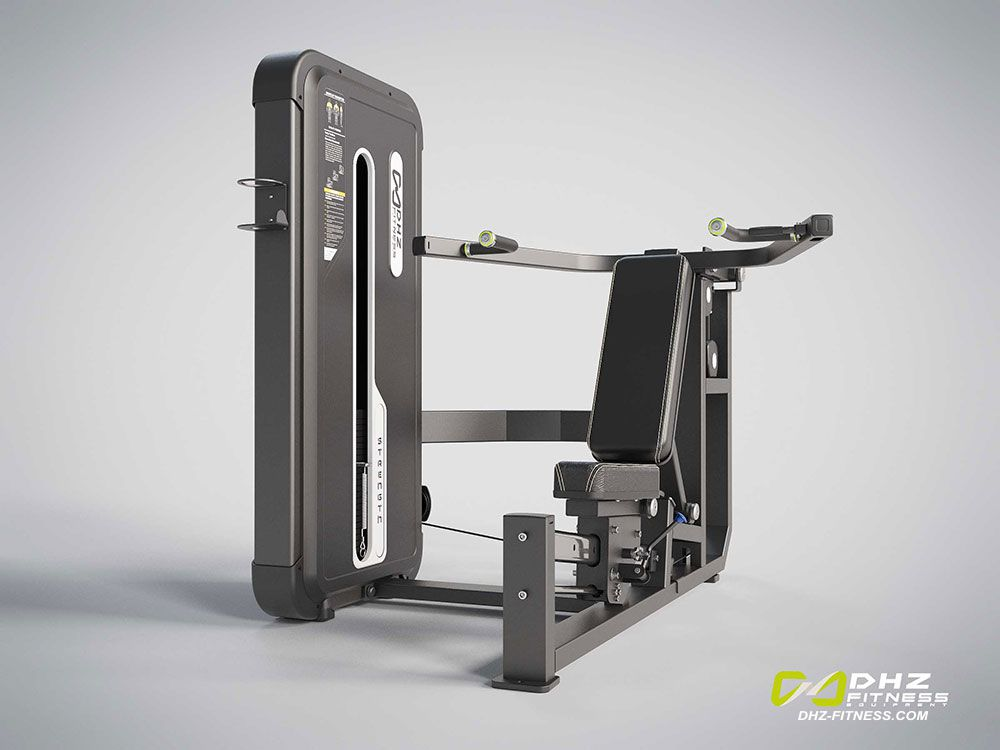 DHZ A-3084 Жим от груди и плеч Chest & Shoulder Press .Стек 140 кг.