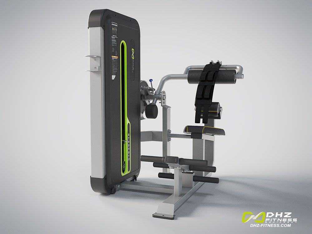 DHZ Fitness Mini Apple A3000 A3088 Пресс машина / разгибание спины