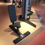 DHZ Fitness Fusion Pro E7038 Скамья под углом 90° (скамья-стул)