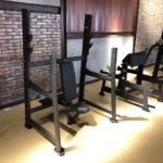 DHZ Fitness Fusion Pro E7051 Скамья для жима вверх сидя