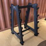 DHZ Fitness Fusion Pro E7055 Стойка для грифов и фиксированных штанг 10 шт