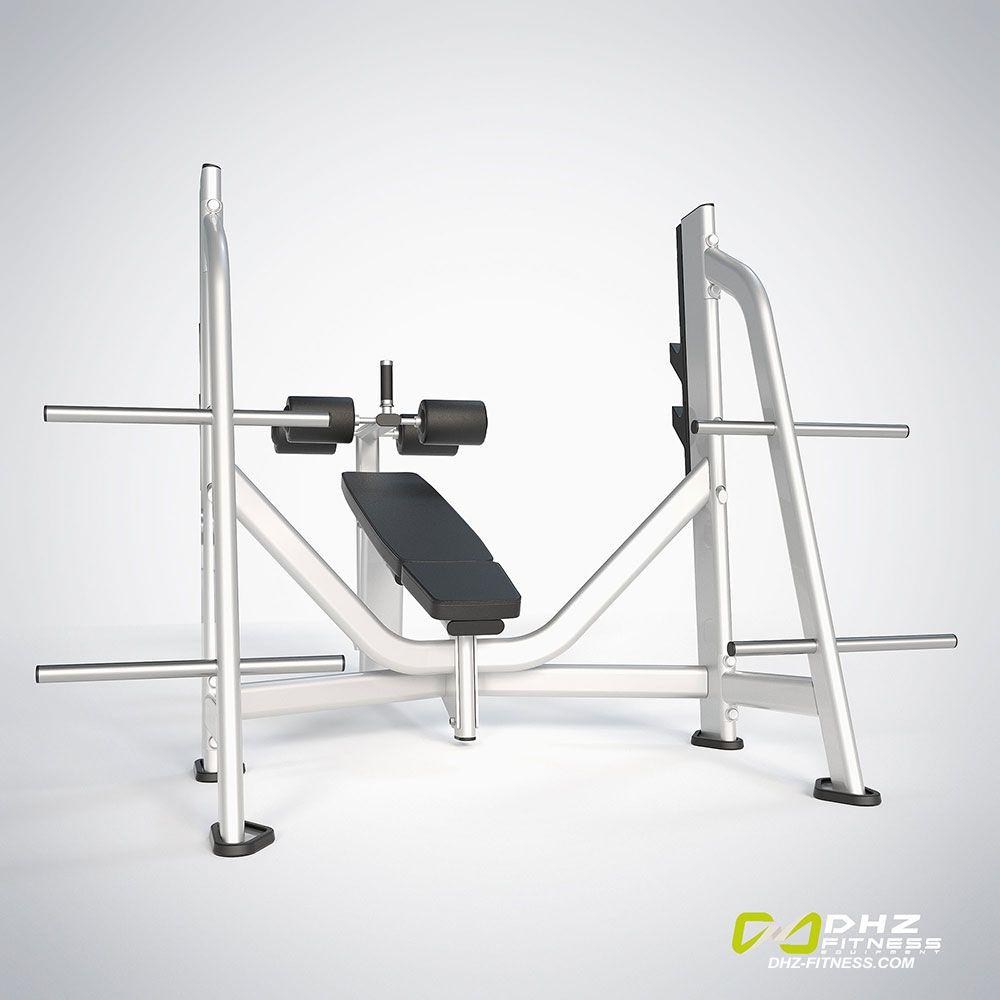 DHZ Fitness Prestige Pro E7041A Скамья жим от груди отрицательный угол