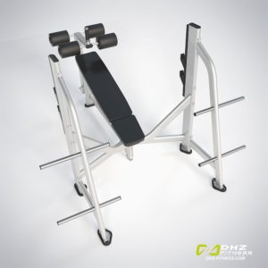 DHZ Fitness Prestige Pro E7041A Скамья жим от груди отрицательный угол фото