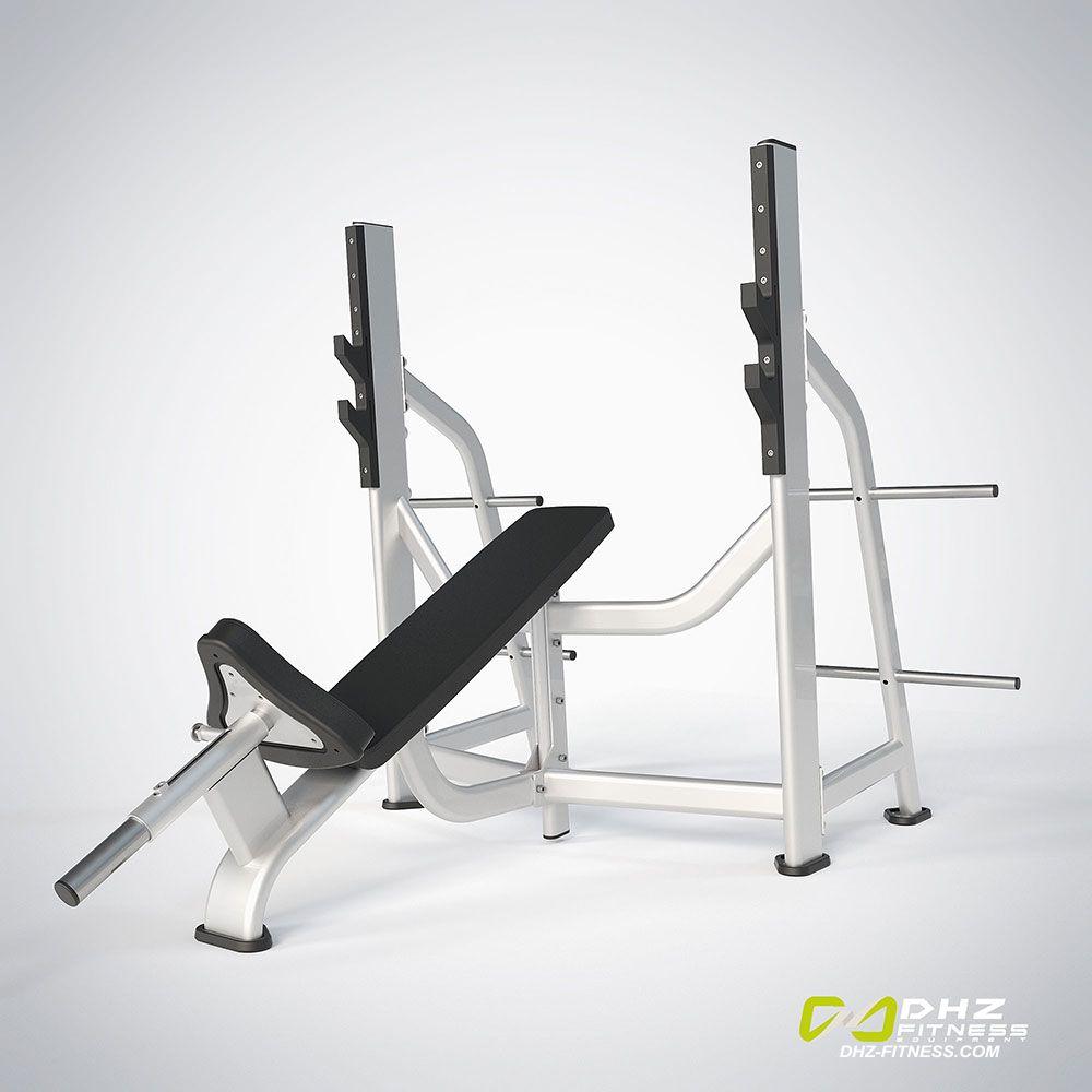 DHZ Fitness Prestige Pro E7042A Скамья жим от груди положительный угол