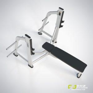 DHZ Fitness Prestige Pro E7043A Скамья жим от груди горизонтальный фото