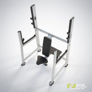 DHZ Fitness Prestige Pro E7051A Скамья для жима вверх сидя фото