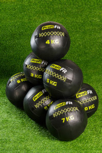 Набивной мяч (Wall Ball) 10 кг фото