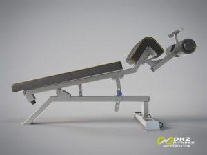DHZ Fitness Mini Apple A3000 A3037 Скамья для пресса регулируемая фото