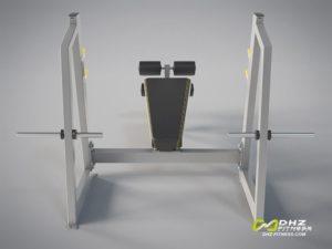 DHZ Fitness Mini Apple A3000 A3041 Скамья жим от груди отрицательный угол фото
