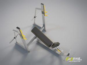 DHZ Fitness Mini Apple A3000 A3042 Скамья жим от груди положительный угол фото