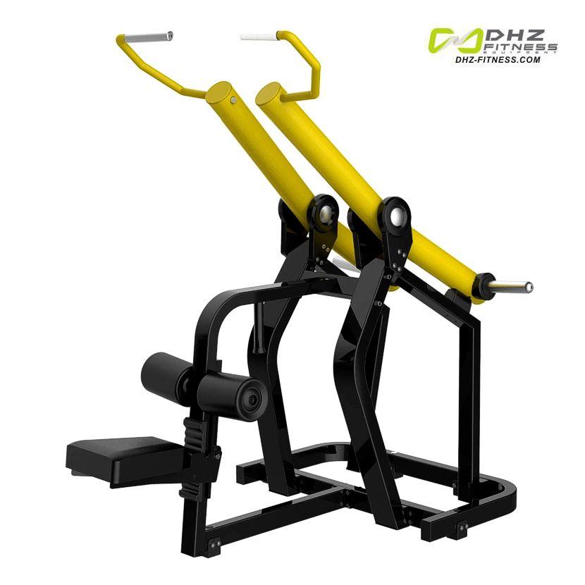 DHZ Fitness PlateLoad Y900S Y920S Тяга сверху